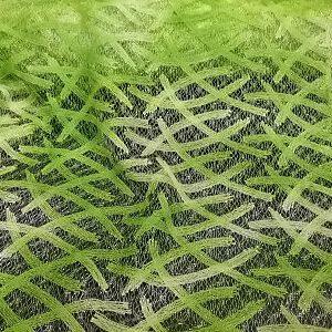 Encaje verde lima