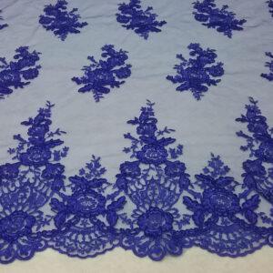 Tul bordado azulino  35€/metro